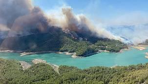 Manavgat'taki yangına isyan ettiler! 'Tam otel yapılacak kadar yer yandı'