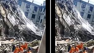 Otel binası çöktü! Çok sayıda kişi enkaz altında