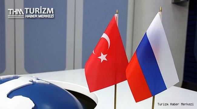 Türkiye ile Rusya arasında turizm ve ticarette işbirliği için KEK Protokolü imzalandı
