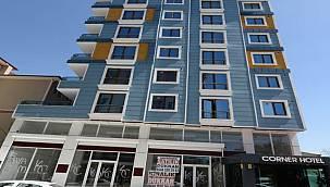 72 odalı otel ve arsası icradan satışa çıktı!