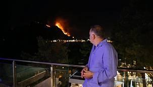 Alevler oteline sıçramıştı! Yangınların turizmi etkilemeyeceğini söyledi