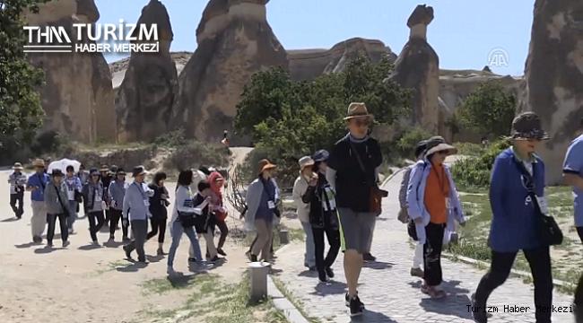 Kapadokya'da 2021 yılının turist rekoru kırıldı!