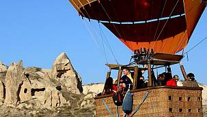 Kapadokya'da balon turlarına yoğun ilgi! İşte 7 aylık bilanço