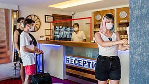 Otel doluluklarında Güvenli Turizm Sertifikası farkı!