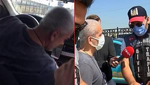 Polisi Arap turist sanan taksiciler hayatlarının şokunu yaşadı!