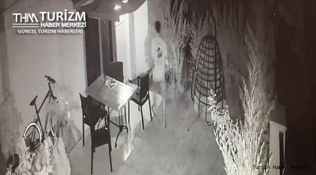 Antalya'daki otelde kadın misafire tacizin görüntüleri ortaya çıktı!