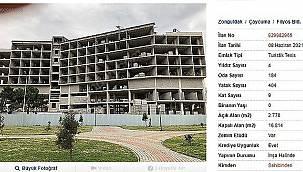 Satışa çıkarılan 4 yıldızlı otel inşaatında flaş gelişme!