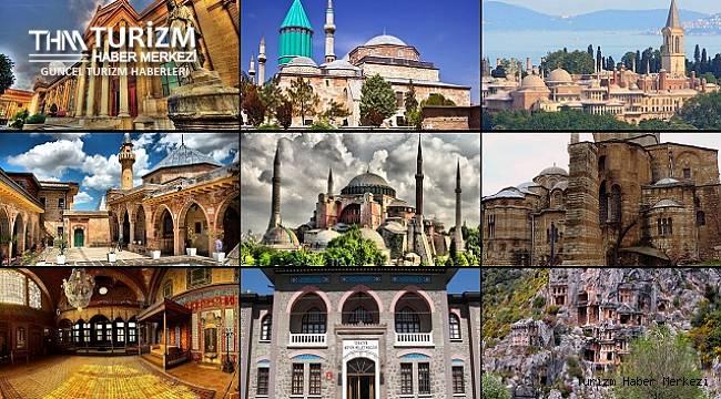 Türkiye'deki müze ve ören yerlerinin sayıları ve ziyaretçi istatistikleri açıklandı