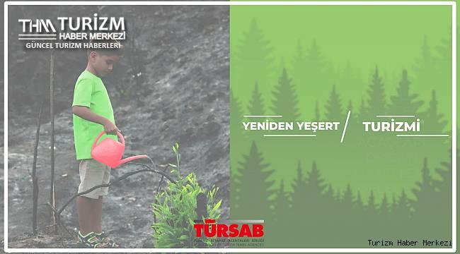 TÜRSAB Yeniden Yeşert Kampanyası ile dayanışma devam ediyor