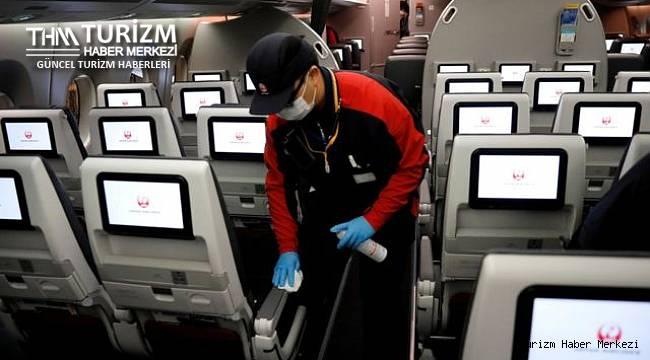 Uçakla seyahatlerde Covid-19 bulaşma riskinin oranı tespit edildi