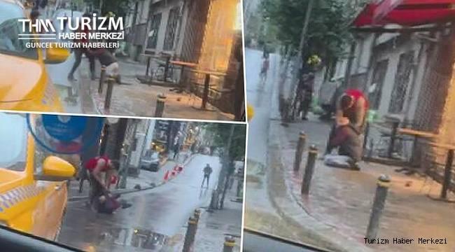Amerikalı turist otelde terör estirdi! Resepsiyonu dağıttı, çalışanları darp etti