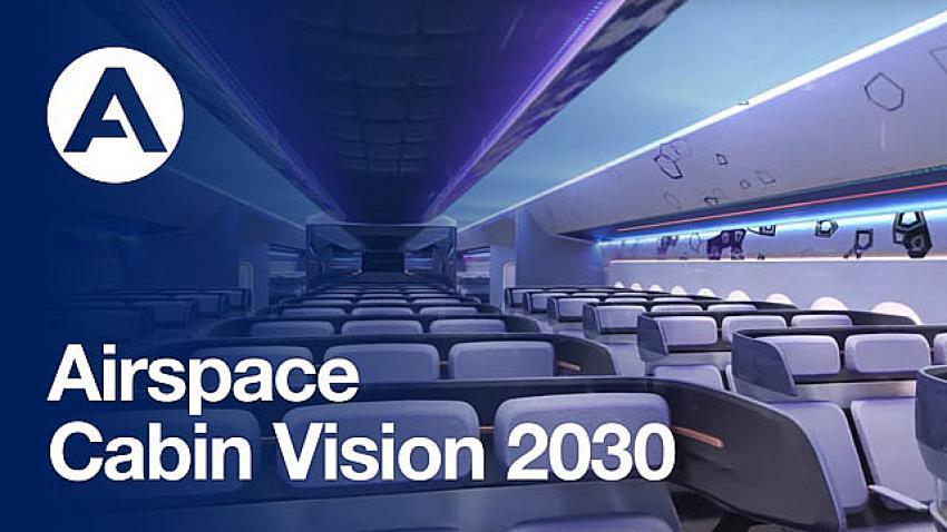 İşte 2030 yılında uçak kabinlerinin görüntüsü!