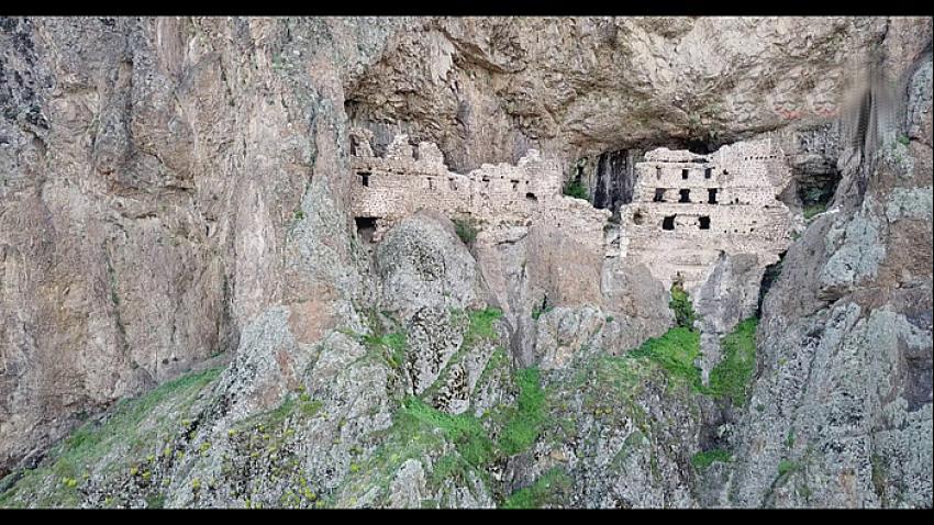 Başkent'in Sümelası Alicin Manastırı yok olma tehlikesi ile karşı karşıya
