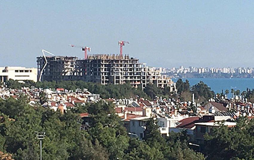 Antalya'da inşaat faaliyetlerine sınırlama geliyor
