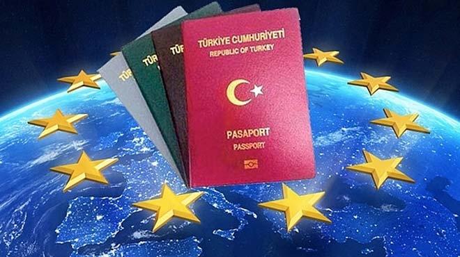 Avrupa Birliğiʹnden Türkiyeʹye vize şartı