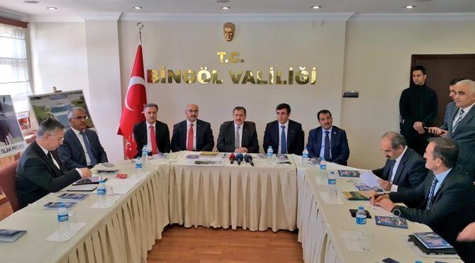 Bakan Eroğlu: ʹʹBingölʹde termal turizmi geliştireceğizʹʹ