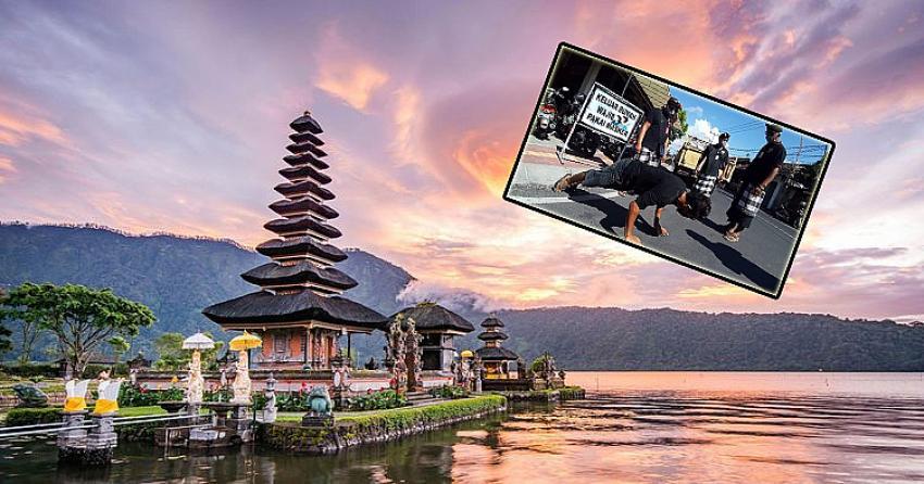 Dünyaca ünlü turizm cennetinde maske takmayana ilginç ceza!