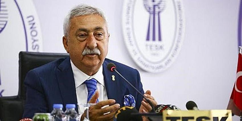 TESK Başkanı Palandöken: ''Küçük işletmeler turizm vergilerinden muaf tutulsun''