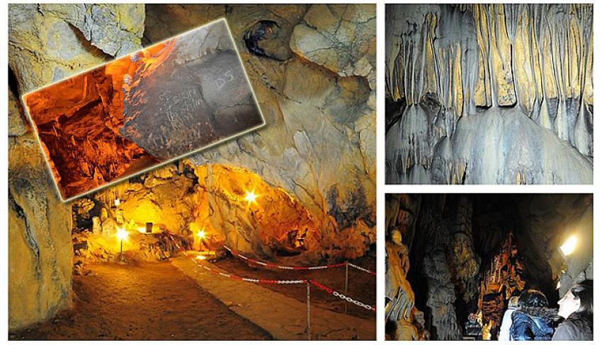 Türkiye'nin 4'üncü büyük mağarası! Duvarları yazı tahtasına döndü, girişler yasaklandı