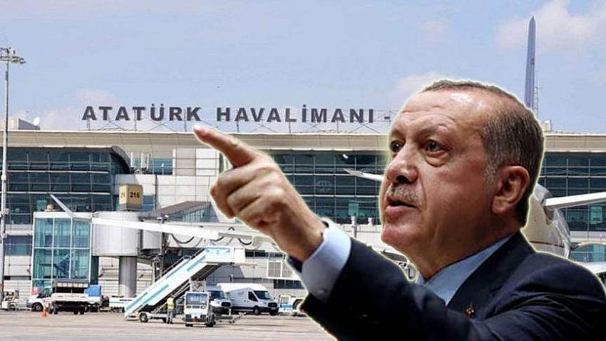 Cumhurbaşkanı Erdoğan açıkladı! Atatürk Havalimanı...