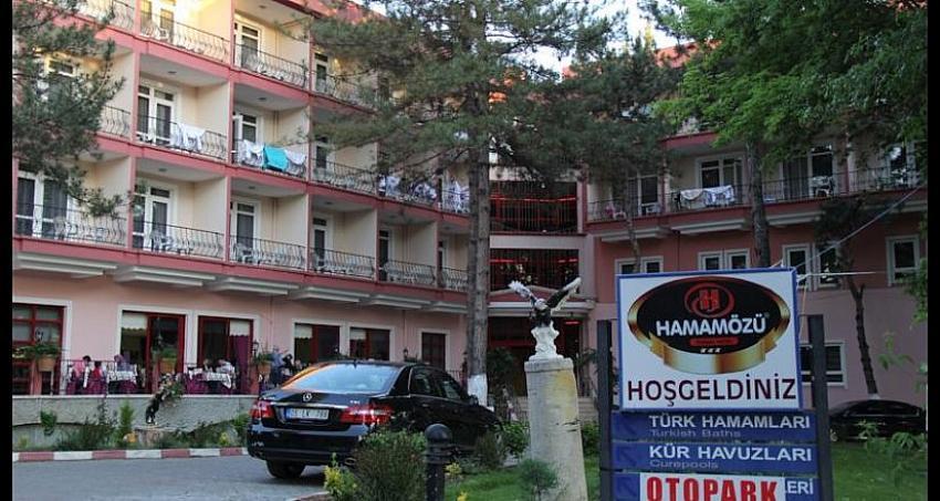 Belediyeden kiralık 63 odalı termal otel