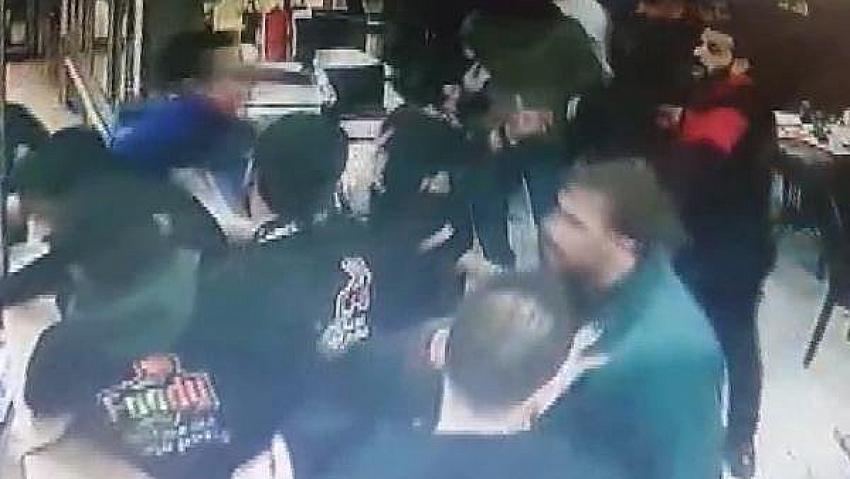 İstanbul'da Suriyelilerin işlettiği retoranı Suriyeliler satırla, bıçakla bastı !