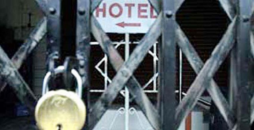 Peş peşe iflaslar! 7 otel tüm operasyonlarını durdurdu