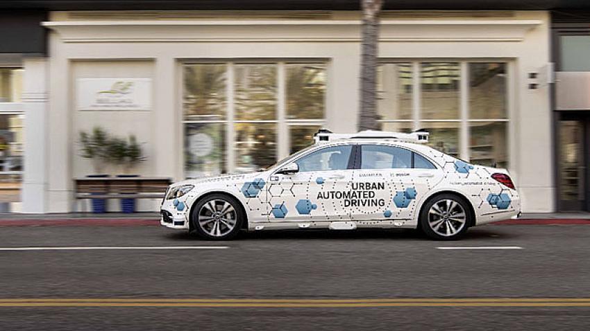 Mercedes ve Bosch'dan otonom araç çağırma sistemi!