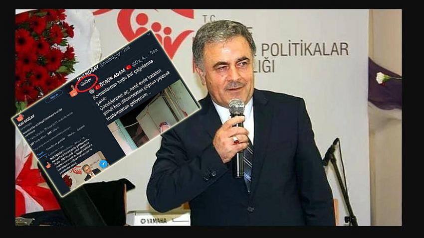 Aile Bakanlığı İstanbul İl Müdür Yardımcısı Nail Noğay'dan mağdur kadına: ''Geber''
