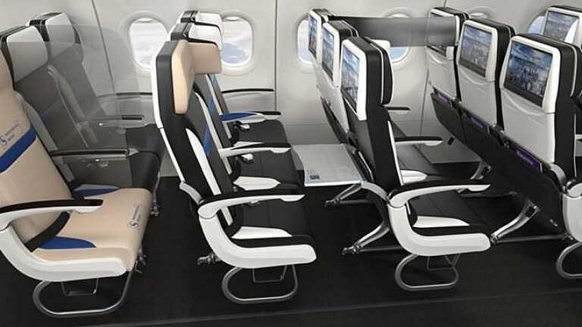 İşte yeni normalde uçak koltukları
