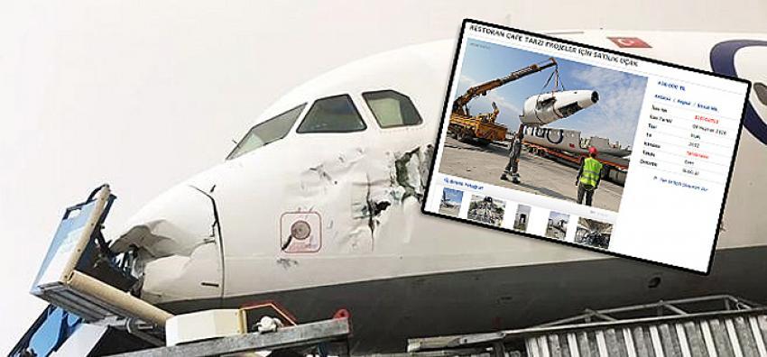 Restoran ve cafe için uygun sahibinden satılık yolcu uçağı