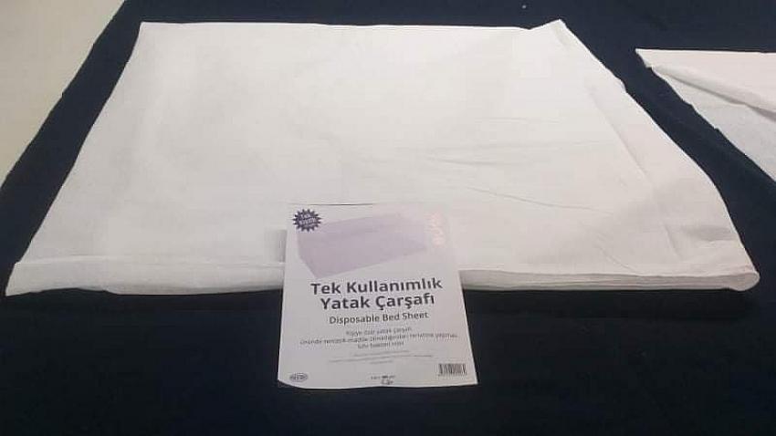 Konaklama tesisleri için tek kullanımlık yastık kılıfı, çarşaf, havlu