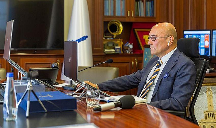 İzmir turizminin salgın sonrası yol haritasını Belediye Başkanı Soyer açıkladı