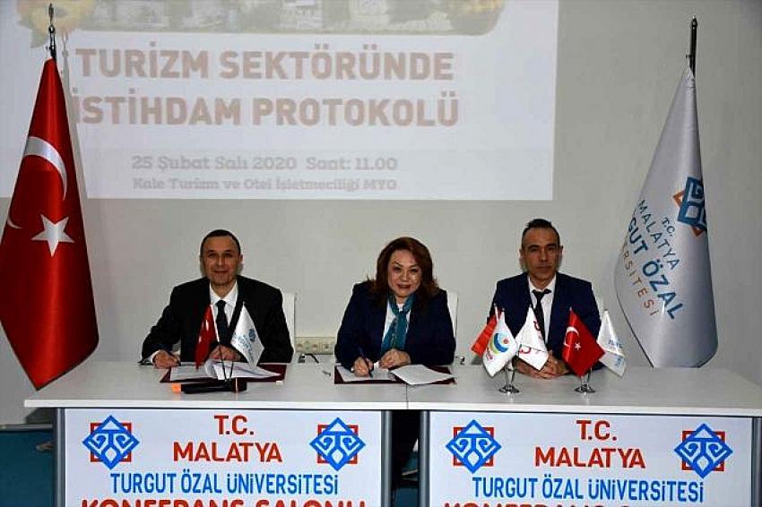 MTÜ ile TUI arasında Turizm sektöründe istihdam protokolü imzalandı