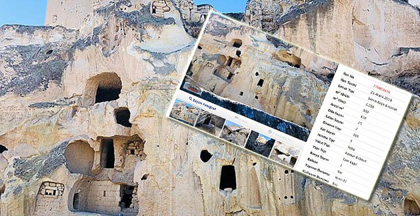 Ürgüp'te satılık 40 odalı mağara ev! Fiyatı dudak uçuklatıyor